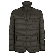 Buy Aquascutum Wadded Mountain Jacket, Green Online at johnlewis.com