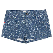 Buy Jigsaw Junior Girls' Cosmic Print Shorts, Blue Online at johnlewis.com