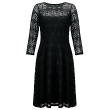Buy Somerset by Alice Temperley Deco Lace Dress, Black Online at johnlewis.com