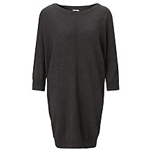 Buy Kin by John Lewis Knit Cocoon Dress, Charcoal Online at johnlewis.com