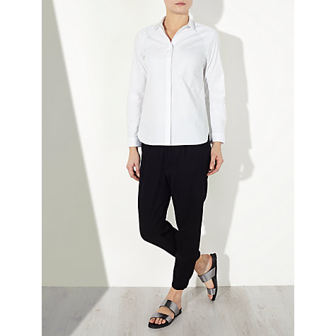 Buy Kin by John Lewis Basic Cotton Shirt, White Online at johnlewis.com