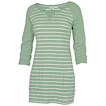 Buy Fat Face Beaulieu Stripe Tunic Dress, Light Moss Online at johnlewis.com