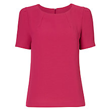 Buy Jaeger Structured Crepe Top Online at johnlewis.com