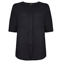 Buy Jaeger Linen Kimono Sleeve Shirt Online at johnlewis.com