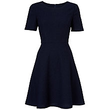 Buy Boutique by Jaeger Textured Prom Dress, Navy Online at johnlewis.com