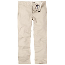 Buy Fat Face Clean Chino Cropped Trousers, Pebble Online at johnlewis.com