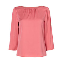 Buy Jaeger Stetch Silk Blouse Online at johnlewis.com