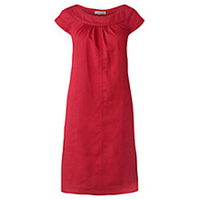 Buy Jigsaw Medium Weight Linen Shift Dress Online at johnlewis.com