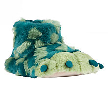 Buy John Lewis Monster Claw Slippers, Green Online at johnlewis.com