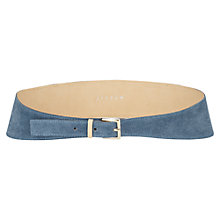 Buy Jigsaw Monaco Waist Belt, Blue Online at johnlewis.com