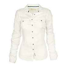Buy Fat Face Classic Fit Linen Shirt Online at johnlewis.com