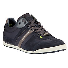 Buy BOSS Akeen Suede Trainers Online at johnlewis.com