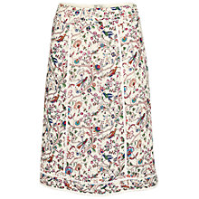 Buy Fat Face Claire Garden Floral Skirt, Multi Online at johnlewis.com