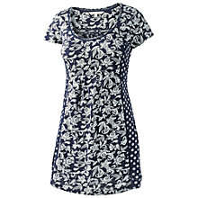 Buy Fat Face Ethnic Patchwork Tunic, Navy Online at johnlewis.com