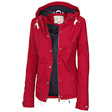 Buy Fat Face Cribbar Jacket, Red Online at johnlewis.com