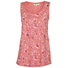 Buy Fat Face Kaleidoscope Floral Vest Top, Ivory Online at johnlewis.com