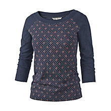 Buy Fat Face Dotty Tile print Jumper, Blue Online at johnlewis.com