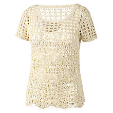 Buy Fat Face 2 In 1 Sadie Crochet Jumper Online at johnlewis.com