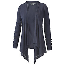 Buy Fat Face Waterfall Pointelle Cardigan, Marina Online at johnlewis.com