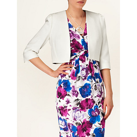 Buy Phase Eight Jeannie Jacket, Ivory Online at johnlewis.com