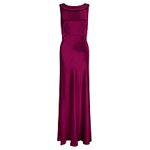 Buy John Lewis Satin Cowl Back Dress Online at johnlewis.com