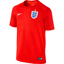 Buy Nike Junior England Short Sleeve Away Stadium Shirt 2014 Online at johnlewis.com