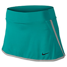 Buy Nike Victory Power Tennis Skirt, Green/Silver Online at johnlewis.com