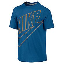 Buy Nike Boys' Futura T-Shirt Online at johnlewis.com