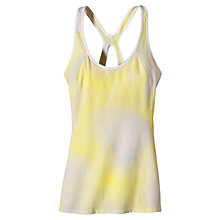 Buy Patagonia Organic Cotton Bisect Tank Top, Yellow/White Online at johnlewis.com