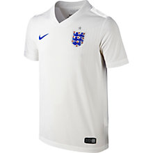 Buy Nike Junior England Short Sleeve Home Stadium Shirt 2014 Online at johnlewis.com