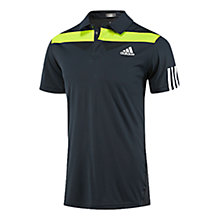 Buy Adidas Barricade Short Sleeve Tennis Polo Shirt, Night Shade/White Online at johnlewis.com