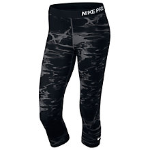 Buy Nike Pro Printed Capri Pants Online at johnlewis.com