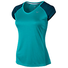Buy Nike Miler V-Neck T-Shirt Online at johnlewis.com