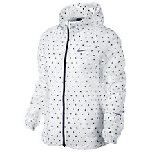 Buy Nike Vapor Cyclone Running Jacket, White Online at johnlewis.com