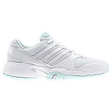 Buy Adidas Women's Bercuda 3.0 Tennis Shoes, White/Mint Green Online at johnlewis.com