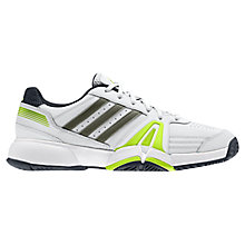 Buy Adidas Men's Bercuda 3.0 Tennis Shoes, White Online at johnlewis.com