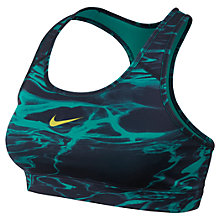 Buy Nike Pro Wave Print Sports Bra Online at johnlewis.com