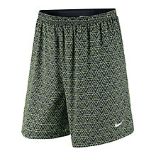"Buy Nike 7"" Pursuit 2-in-1 Running Shorts, Black Online at johnlewis.com"