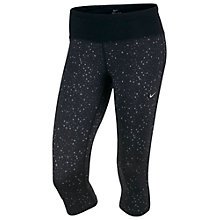 Buy Nike Epic Printed Cropped Running Tights Online at johnlewis.com