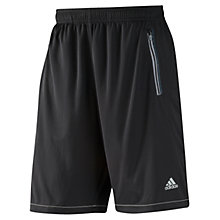 Buy Adidas CLIMACHILL Shorts, Black Online at johnlewis.com