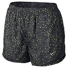 Buy Nike Women's Tempo Geometric Print Shorts Online at johnlewis.com
