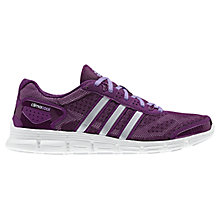 Buy Adidas Women's ClimaCool Fresh Running Shoes, Tribe Purple Online at johnlewis.com