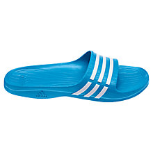 Buy Adidas Duramo Sleek Slides Pool Shoes Online at johnlewis.com