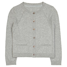 Buy Jigsaw Junior Girls' Essential Cotton Cardigan Online at johnlewis.com