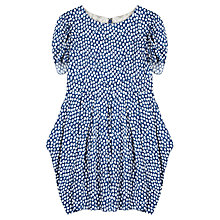 Buy Jigsaw Junior Girls' Smudge Spot Dress, Blue Online at johnlewis.com