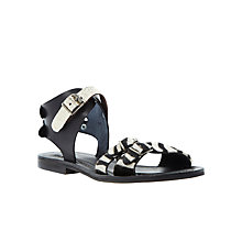 Buy Bertie Jarva Flat Leather Sandals Online at johnlewis.com
