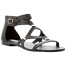 Buy Steve Madden Comma Strappy Zip Back Gladiator Sandals Online at johnlewis.com