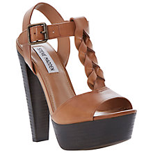 Buy Steve Madden Daylee High Heeled Sandals, Tan Online at johnlewis.com