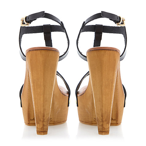 Buy Steve Madden Ownit Platform Sandals, Black Online at johnlewis.com