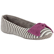 Buy John Lewis Soprano Stripe Ballet Slippers Online at johnlewis.com